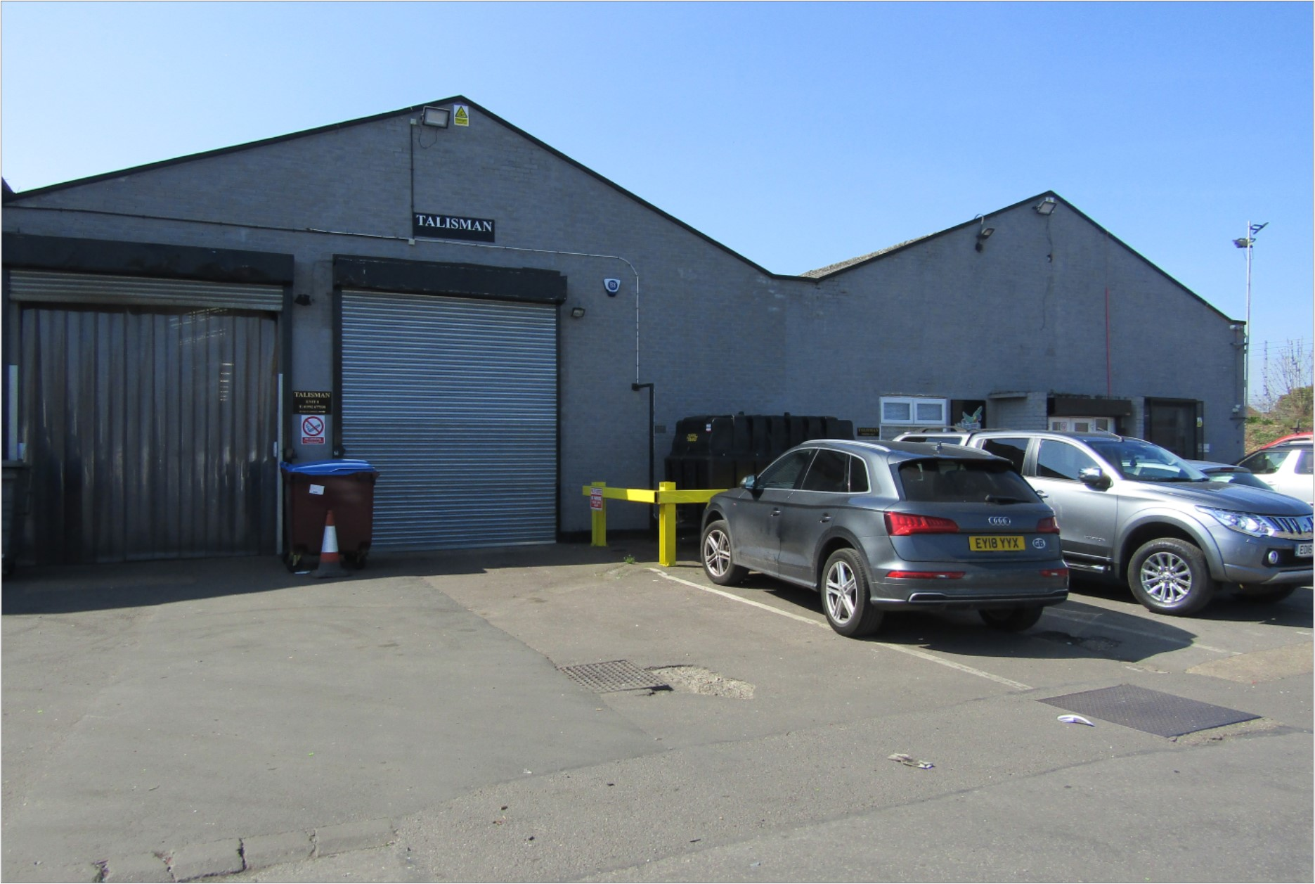 Unit 8, Rawmec Business Park, Plumpton Road, Hoddesdon